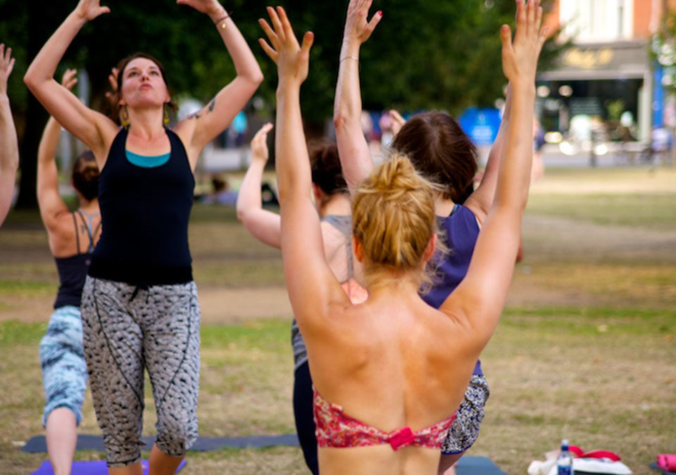 Yoga In The Park This Summer