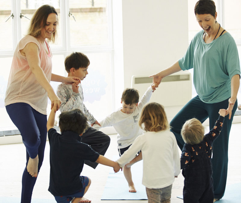 Yoga for children starts at Yoga West