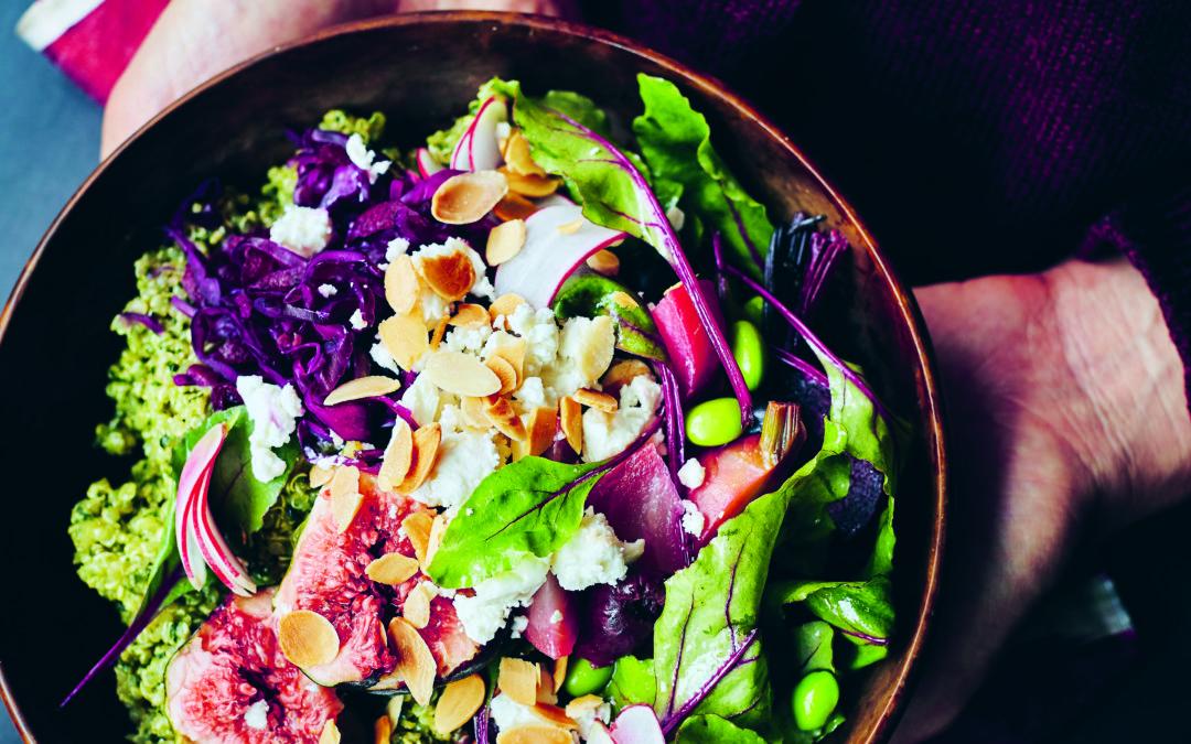 Thrive Gratitude Bowl – Yoga Kitchen Plan Recipe by Kim Parsons