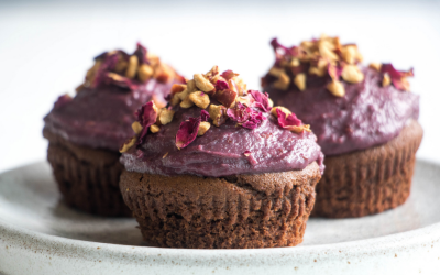 Recipe: Vegan Chocolate Fudge Cakes with Jujube Fruits