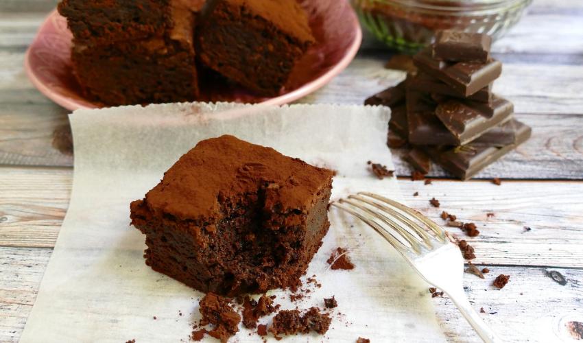 Recipe: Fudgy Brownies made with Aquafaba