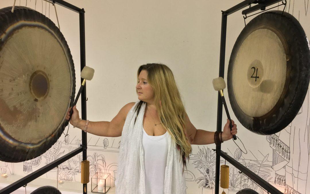 Our new class: yoga and sound. Meet the teacher: Charlie Merton