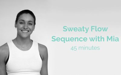 Mia Sweaty Flow Sequence 45 Minutes