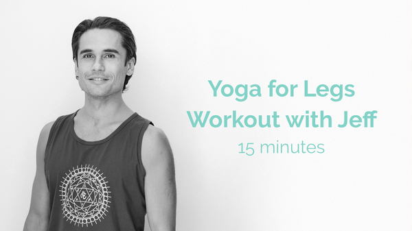 Jeff  Yoga For Legs Workout 15 Minutes