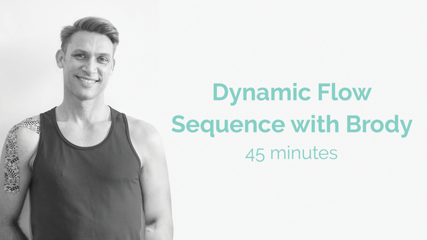 Brodie Dynamic Flow Sequence 45 Minutes