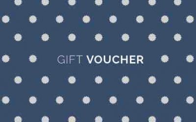 £5 of studio credit for every £20 spent in gift vouchers