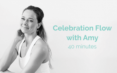 Celebration Flow with Amy 40 Minutes