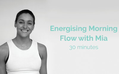 Energising Morning Flow with Mia 30 Minutes
