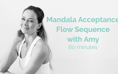 60 Minute Mandala Acceptance Flow Sequence with Amy