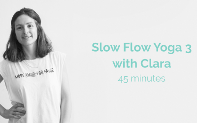 Slow Flow 3 with Clara 45 Minutes