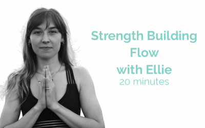 Strength Building Flow with Ellie 20 Minutes