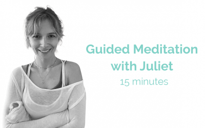 Guided Meditation with Juliet 15 Minute