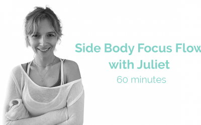 Side Body Focus Flow with Juliet 60 Minute