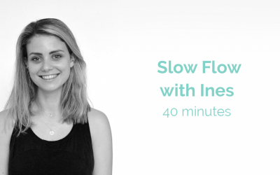 Slow Flow with Ines 40 Minutes