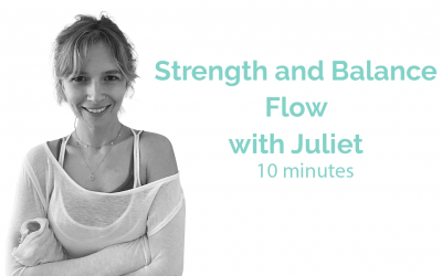 Strength and Balance Flow with Juliet 30 Minutes